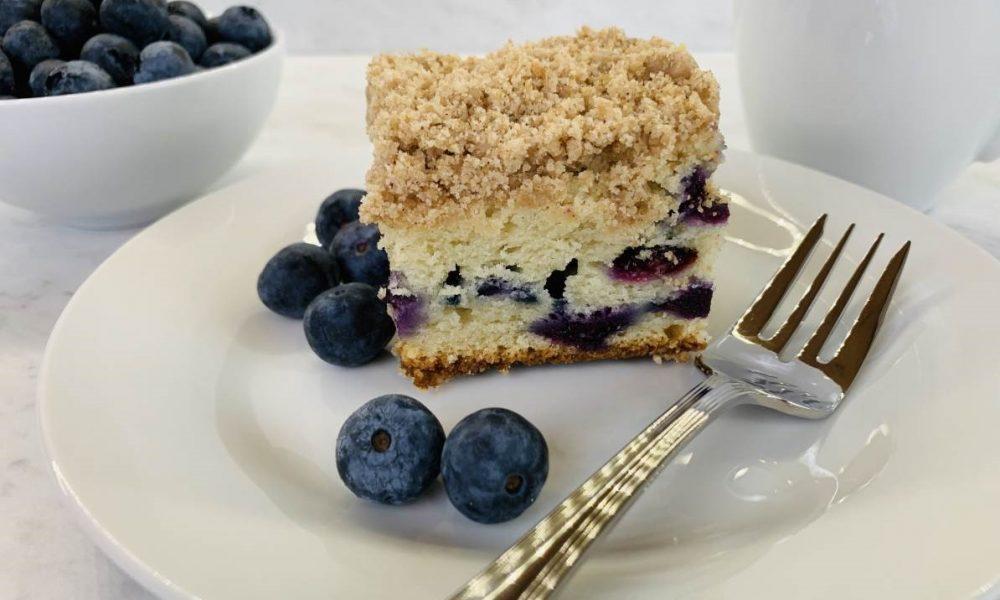 Gluten Free Bluberry Coffee Cake 15