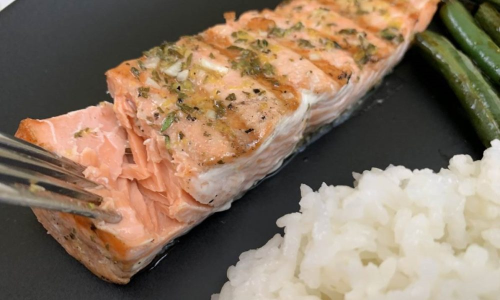 Grilled Salmon 7
