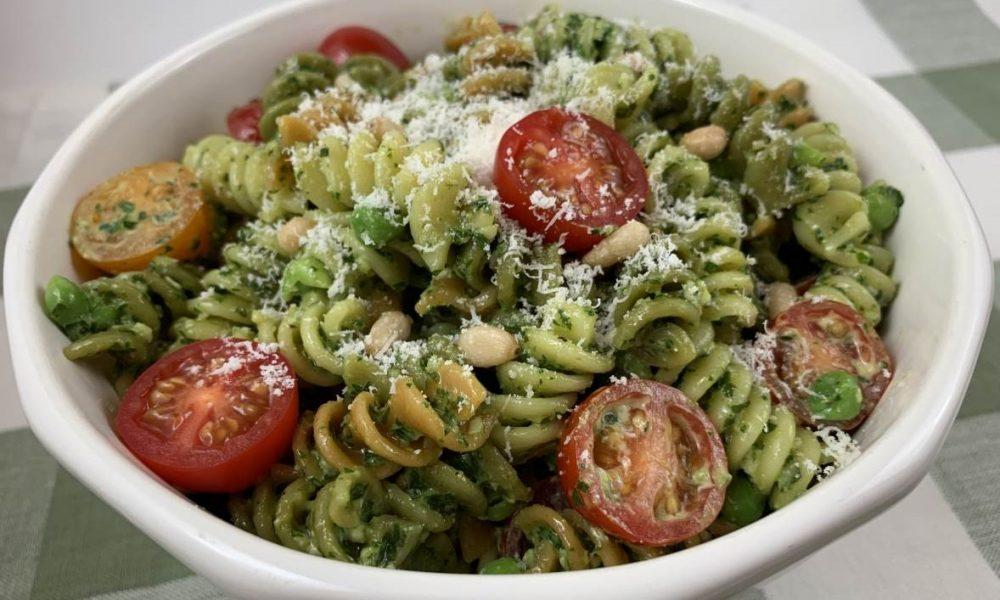 Pesto Pasta 6