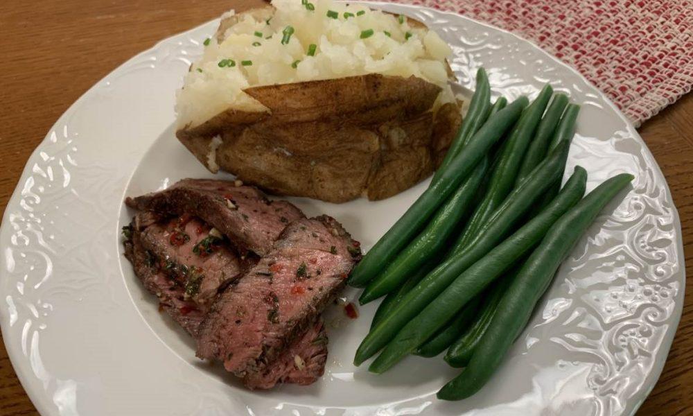 Ribeye Steak with Herb Board Sauce 1