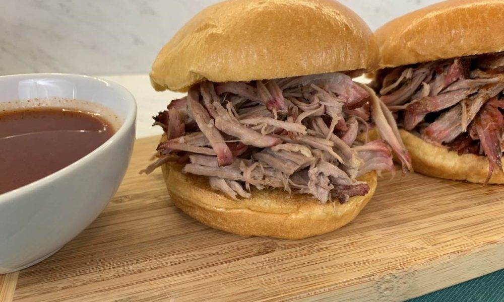Simple Smoked Pulled Pork 12