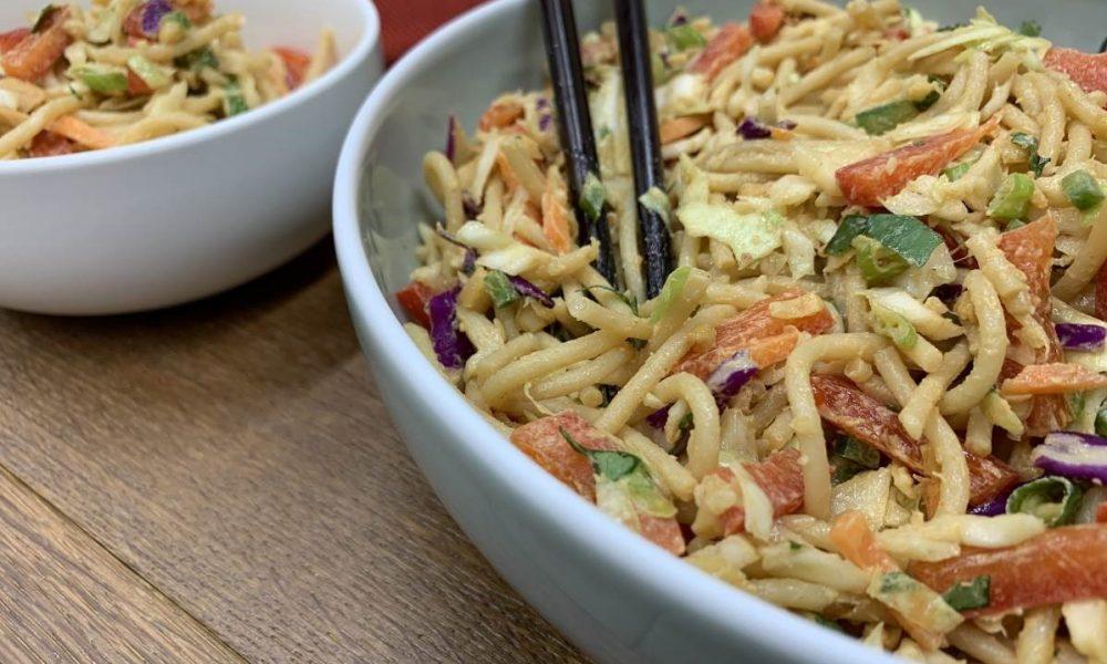 Thai Peanut Noodle Salad 8